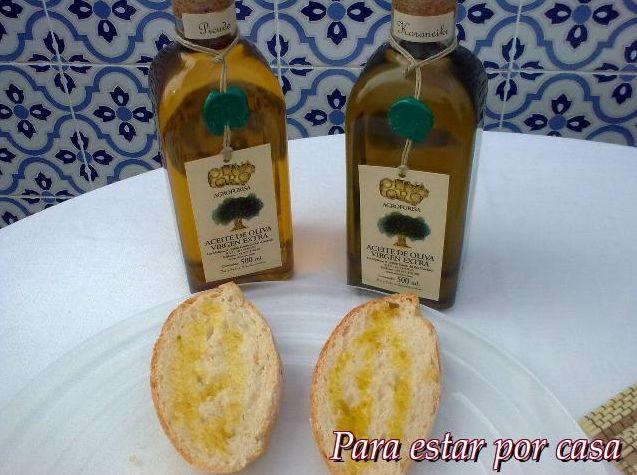 Para estar por casa: Tosta de pan con tomate y Aceites Oliva Oro  #tostas #pan #aceite #AOVE #tomate