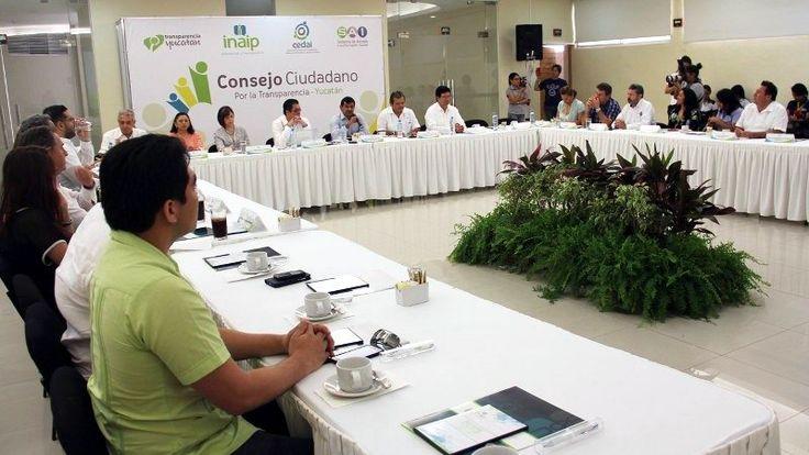 Subrayan Alcances de la Ley General de Transparencia en Sesión de Consejo Ciudadano del INAIP