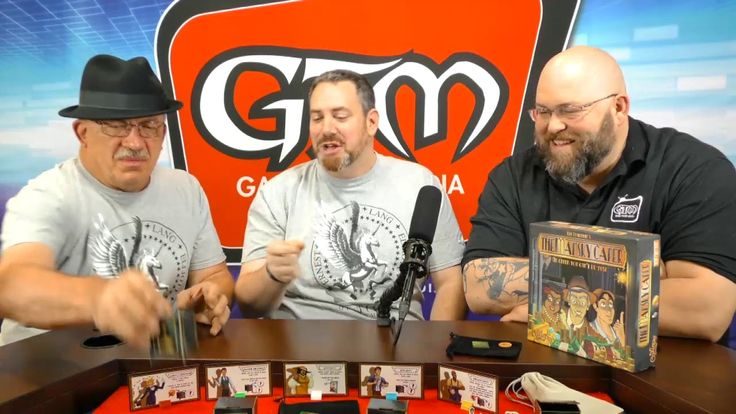The Mansky Caper looks like a lot of fun!  I can't wait!  Calliope Games Talks to GTM at PAX Unplugged 2017