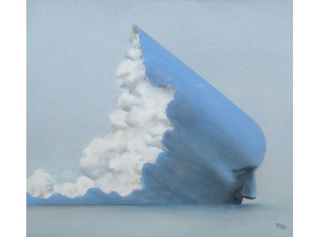 Kimmo Kaivanto: Ikaros, 1972, painting. The Saastamoinen Foundation Art Collection.