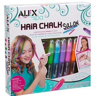 Temporary (chalk) hair color that'll wash out with a bit of shampoo.   Here's What People Are Buying On Amazon Right Now