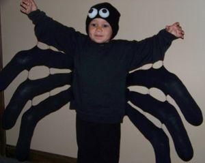 Deguisement araignée