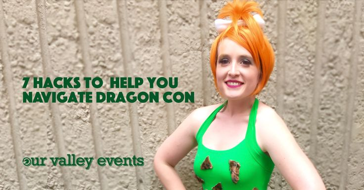 Hacks and tips to help you navigate Dragon Con in Atlanta, GA. #cosplay #costume