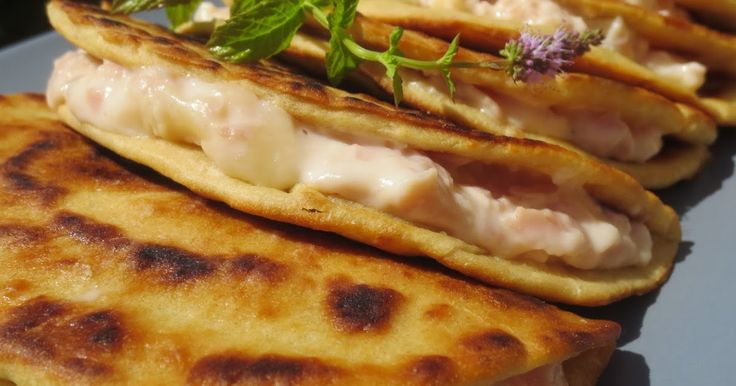 piadinas con thermomix, jamón y queso con thermomix,