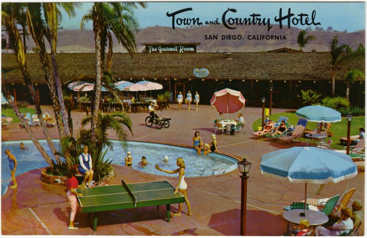 Town and Country Hotel on Hotel Circle, San Diego