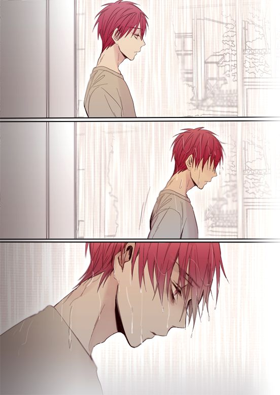 "Akashi Seijūrō 赤司征十郎   Rakuzan Kōkō   Kuroko no Basket  BIAN en Twitter: ""【65Q注意】아카시는 그때일을 두고두고 후회할것같은 ....아무튼 그날은 귀신같이 비가 내렸다는것이다ㅠ... http://t.co/MCzVIlOcbq"""
