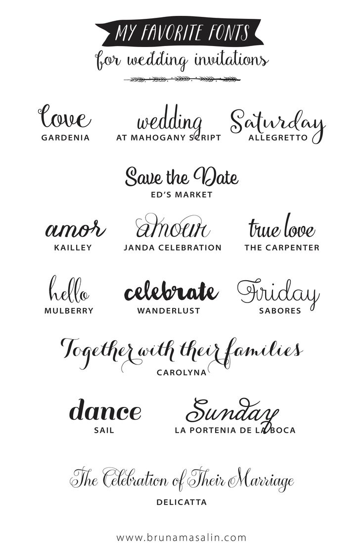 For all DIY lovers: I've complied a list of fourteen of my favorite romantic fonts. Some of these are paid fonts and there are a few that are free! Download them from the links at the end of this p…