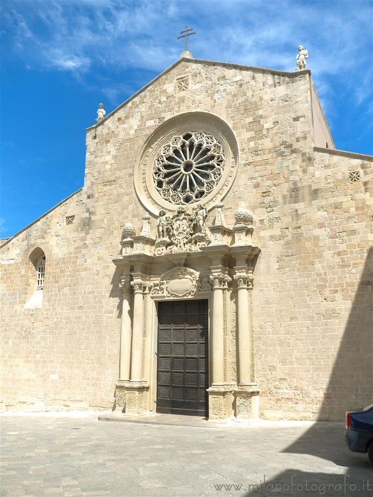 Facade of the cathedral of Otranto