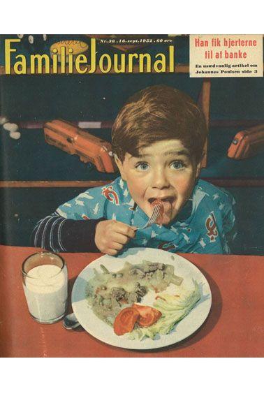 Frisk lille fyr med glubende appetit.