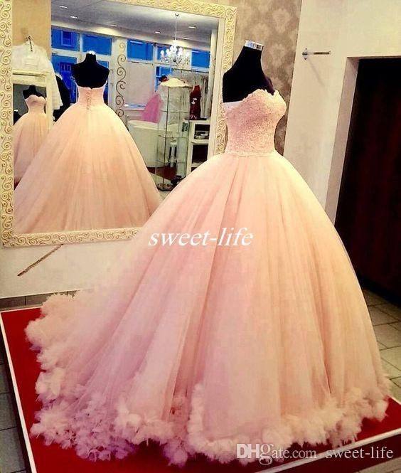 2016 Luxury Lace Ball Gown Quinceanera Dresses Sweetheart Cascading Ruffle Tulle Sweet 15 -16 Princess Dresses Plus Size Vestidos De 15 Anos Online with $136.01/Piece on Sweet-life's Store | DHgate.com
