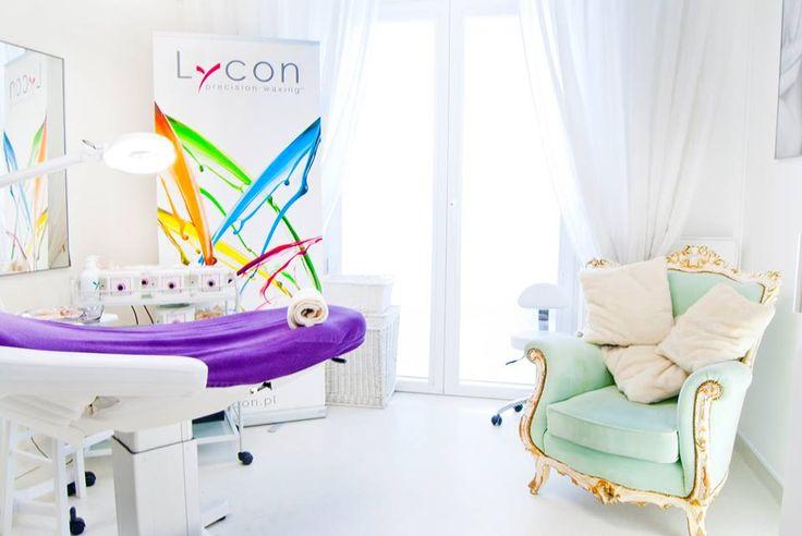 Beautiful LYCON salon in Poland! #wax #spa #salon #design #lycon #waxing