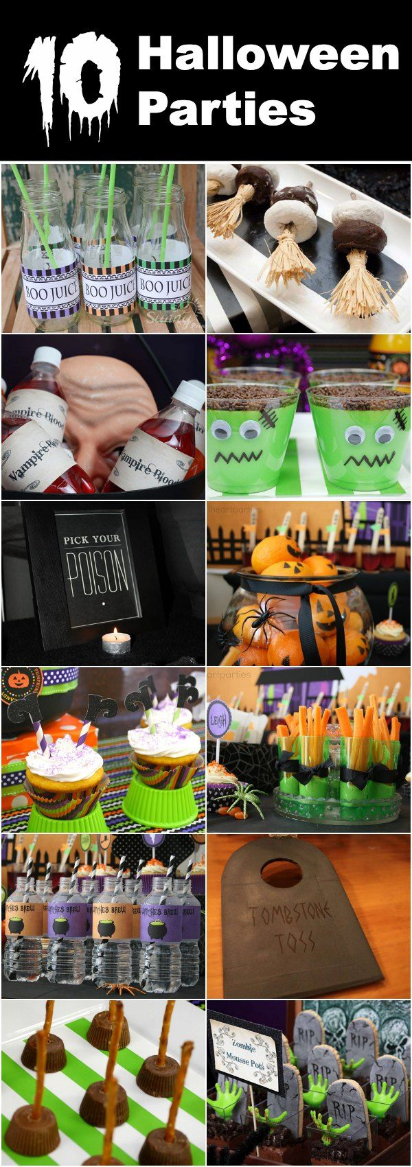 10+ Halloween parties with ridiculously creative ideas