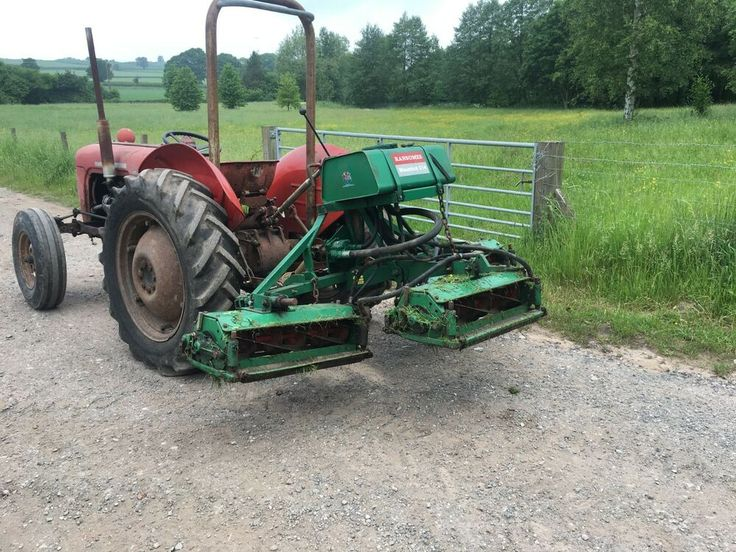Ad Ransomes 214 gang mower Mower, Classic tractor