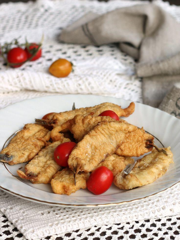 Le alici in pastella sono un antipasto secondo piatto for Piatto della cucina povera