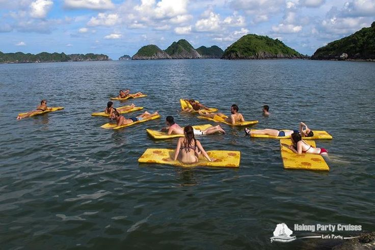 Activities of Halong Party Cruises
