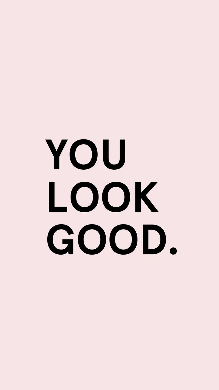 You Look Good by Glossier