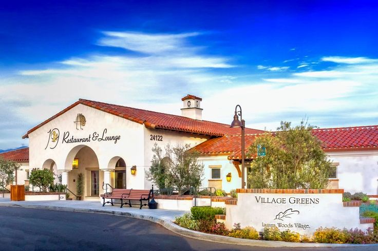 #Retiring in Laguna Woods Village means never having to travel far for #entertainment. There's a restaurant on-site!