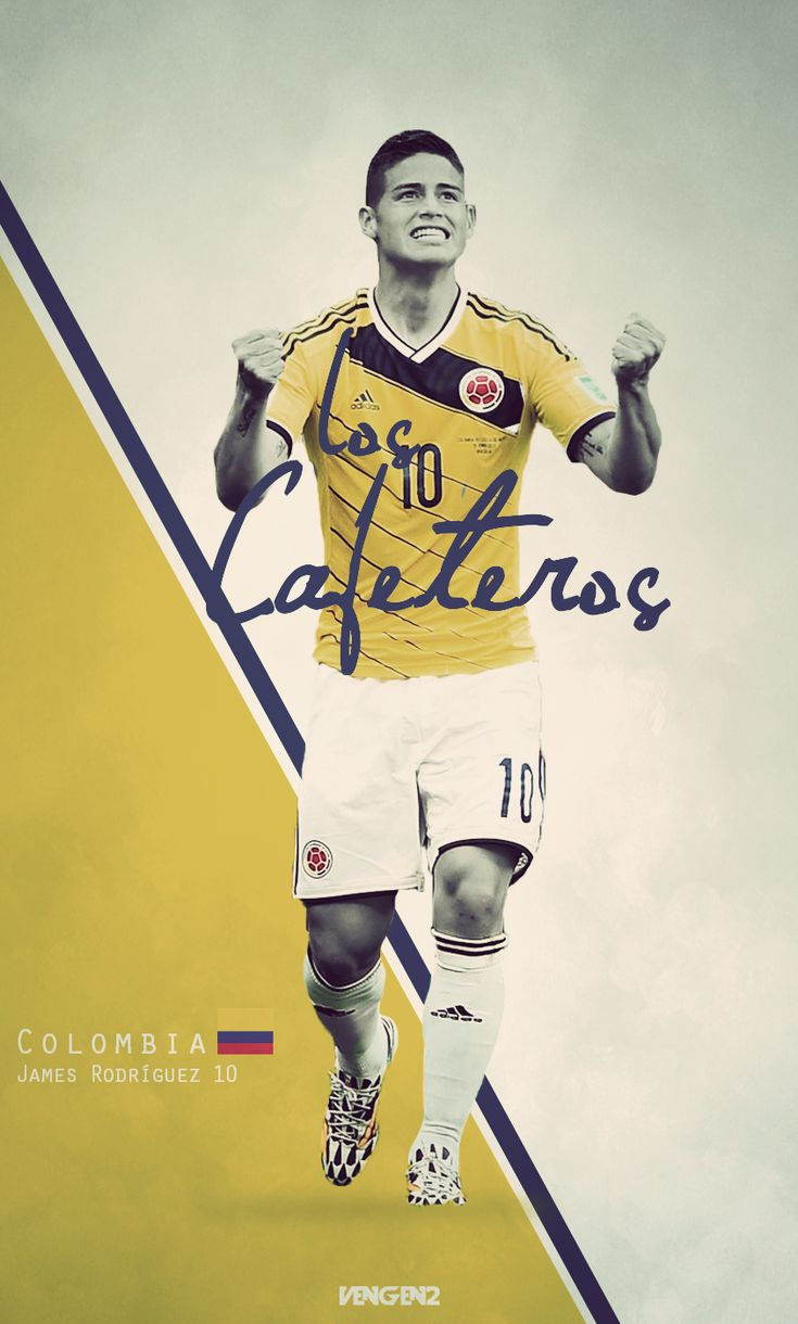 """Y mis nominados al trono: James Rodríguez. «2014 FIFA Copa Mundo Brasil, """"todos en un mismo ritmo""""» [domingo, 13 de julio de 2014]."""