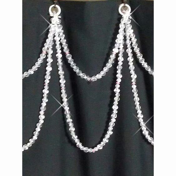 Pin On Shower Curtain Hook Bling