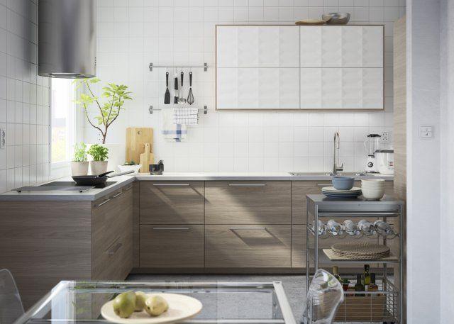 49 best cuisines ikea images on Pinterest Ikea kitchen, Kitchen - meuble cuisine porte coulissante ikea