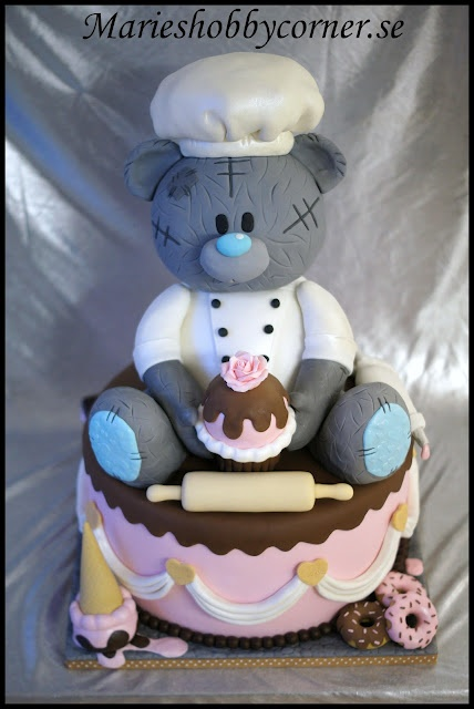 My winning Teddy cake in Scandinavian Cake Show 2012 !