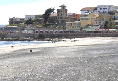 Invierno en Cartagena de Chile