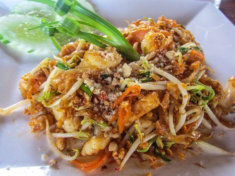 Thailändische Kücke, Rezepte, Essen,Phad Thai
