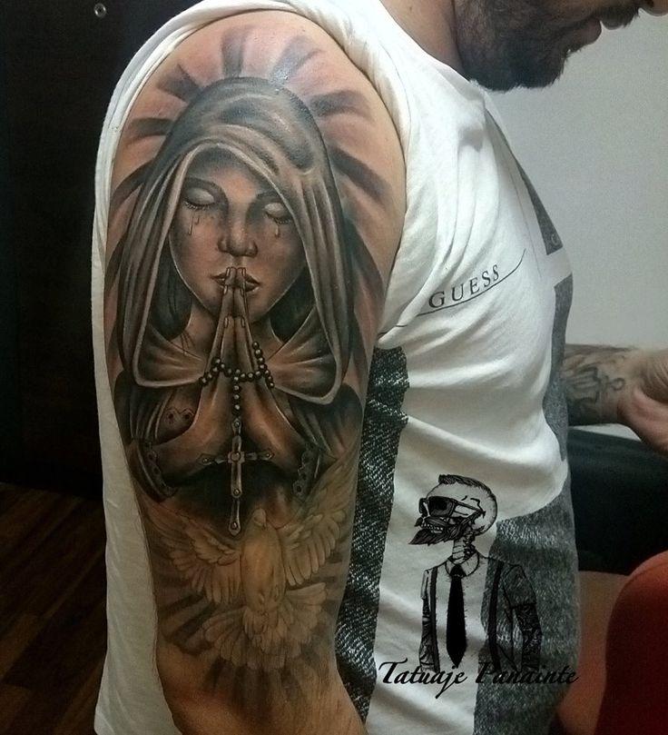 #remake #religious #tattoos #sleeve