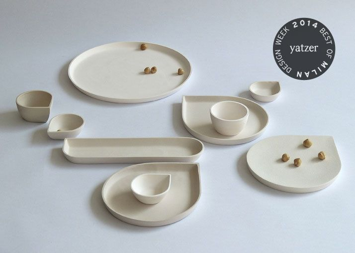 BEST OF MILAN DESIGN WEEK 2014 | Yatzer, Ceramics by Belgium-based designer Ilona van den Bergh.