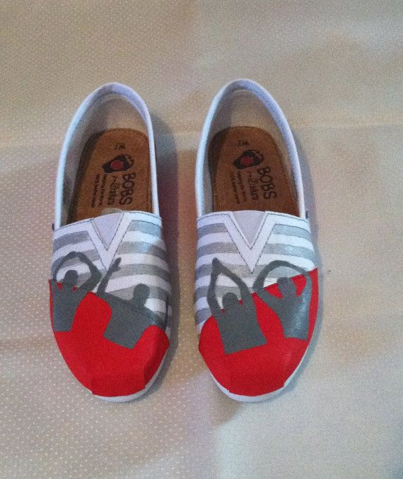 OHIO State BOBs by paintedpairs on Etsy, $55.00