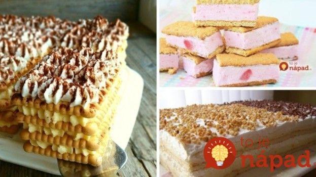 Nemusíte zapínať rúru: 9 dezertov z maslových sušienok, ktoré pripravíte do 15…