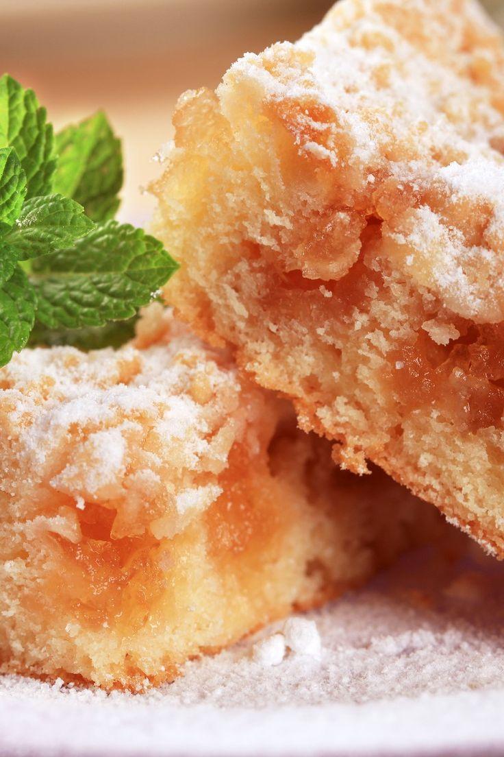 Cinnamon and Brown Sugar #Apple Squares with Walnuts #Dessert #Recipe