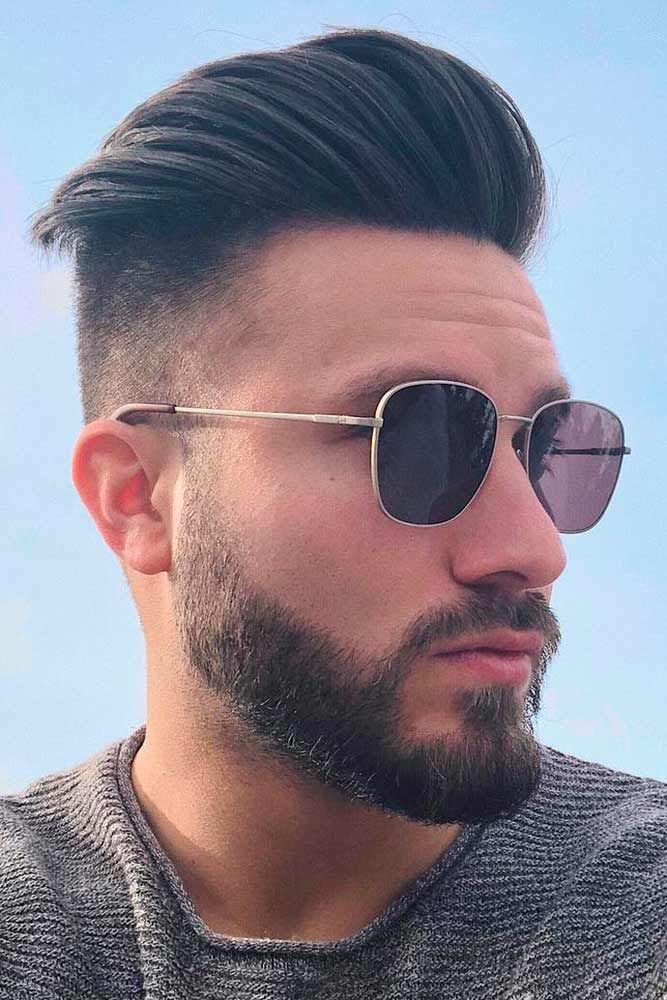 Opt For A Comb Over Haircut To Stay Up To Date Mens Hairstyles