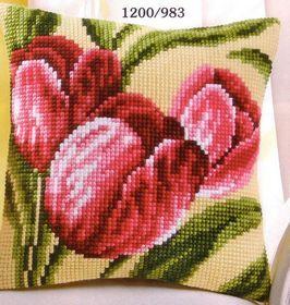 Red Tulips: Cross stitch (Vervaco, PN-0008781)