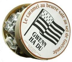 Caramel Gwenn Ha Du. Caramel au beurre salé au sel de Guérande. salted caramels from Brittany