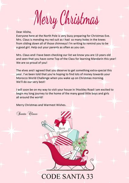 61 best santa letters images on pinterest xmas christmas things