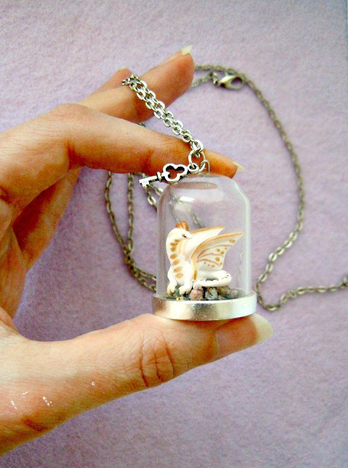 ooak of thrones necklace viserion on