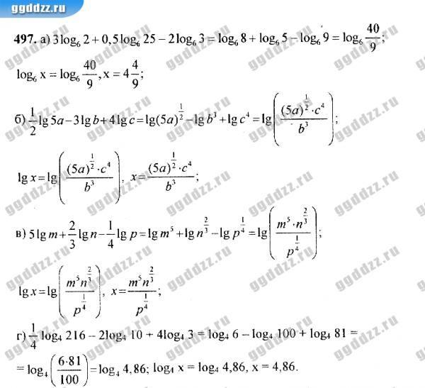 Решебник по алгебре и начала анализа 10-11 класс м.и башмаков