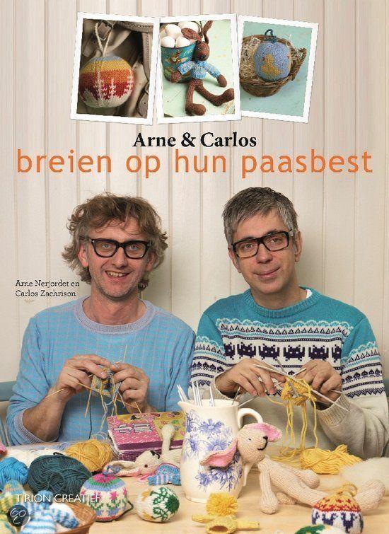 Arne & Carlos breien op hun paasbest