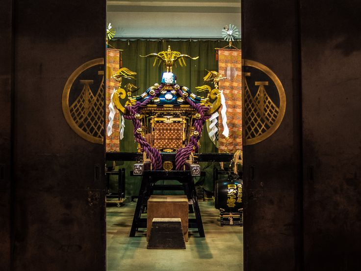 Asakusa Honsha Mikoshi Mitamaire 6/6 The mitamaire is over (sadly, during the ceremony, all camers must be off) and the doors of the warehouse close so that the there honsha mikoshi will get prepared for the Sanja Matsuri. #Asakusa, #omikoshi, #honsha, #mitamaire, #Sanja, #matsuri May 12, 2016 © Grigoris A. Miliaresis