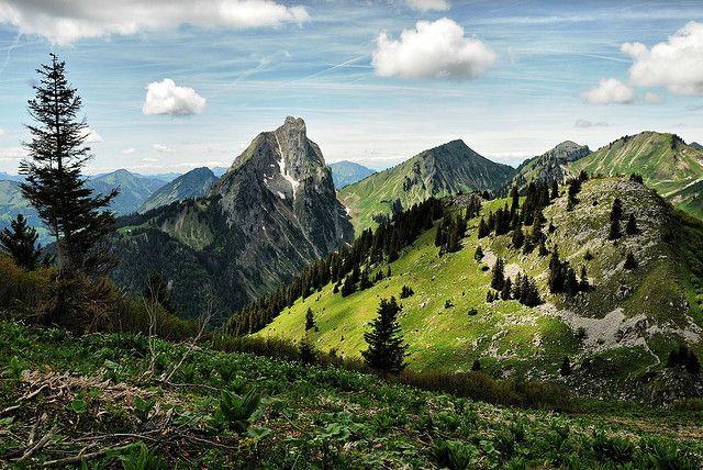 La Chapelle d'Abondance Haute Savoie France