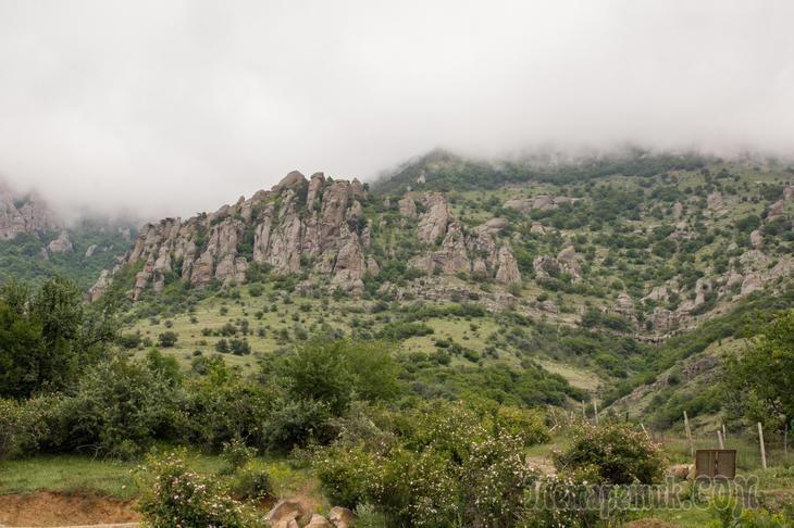 Отдых в Крыму часть 4, долина привидений