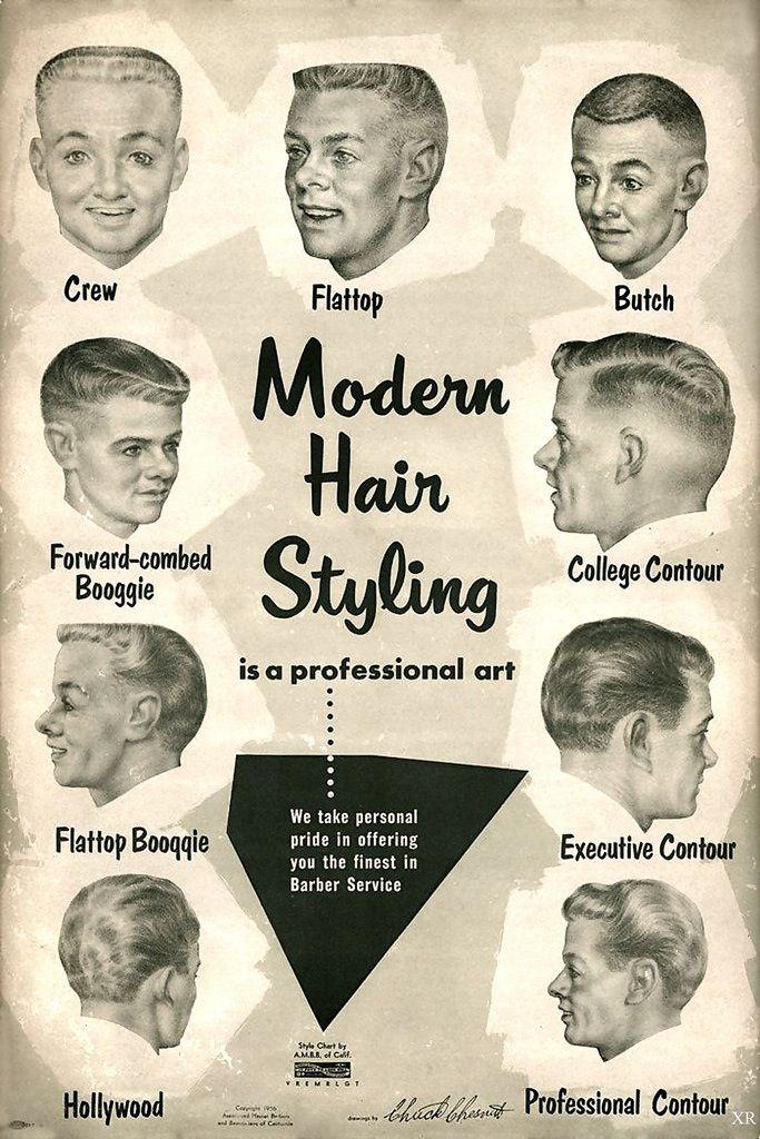 Men's Classic Hair styles
