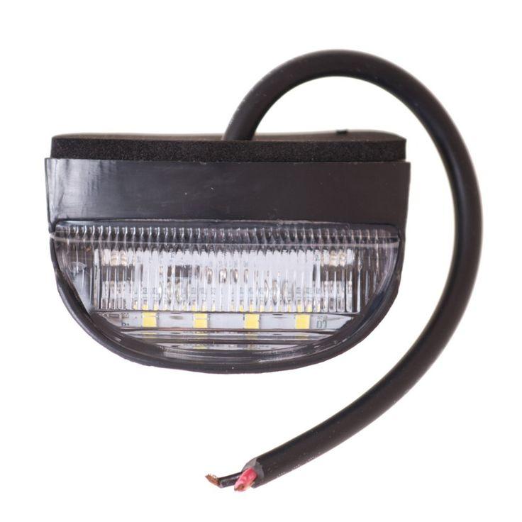 $11.39 (Buy here: https://alitems.com/g/1e8d114494ebda23ff8b16525dc3e8/?i=5&ulp=https%3A%2F%2Fwww.aliexpress.com%2Fitem%2FLICENCE-PLATE-LED-LAMP-NUMBER-LIGHT-TRAILER-TRUCK-NPL-3LED-WHITE-VISION%2F32266296763.html ) 2x 12V/24V Bright 6LEDs License Plate Light Lamp Bulbs Number Plate Light for Motorcycle Boats Aircraft Automobile TrailerTruck for just $11.39