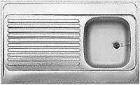 BLANCO/RIEBER Edelstahl Auflagespüle Auflage-Spüle Küchenspüle Spüle div. Größen