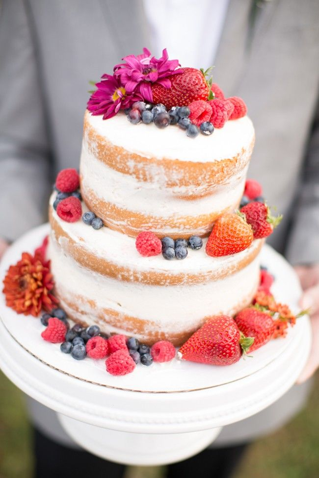 400 Best Naked Rustic Wedding Cakes Images On Pinterest -6608