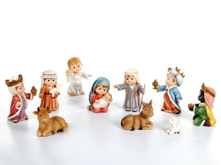 Juego de Nacimiento de 10 Piezas / Nativity Set: 10 Piezas, Born, 10, 2012 Collection, Nativity Sets, Sets 2012, Game Of, 2012 Nativity, Collection 2012
