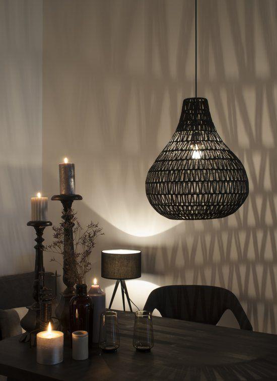Zuiver Cable Drop - Hanglamp - Zwart
