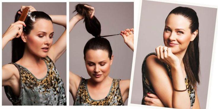 Tre ulike og enkle hårfrisyrer