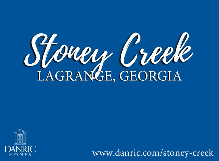 Stoney Creek: LaGrange, Georgia new homes for sale. Absolutely charming new home community conveniently located in-town in the LaGrange High School District. Call us today at 706-882-7773 for more information about these new homes for sale!